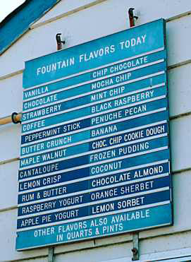 Four Seas Ice Cream Flavors